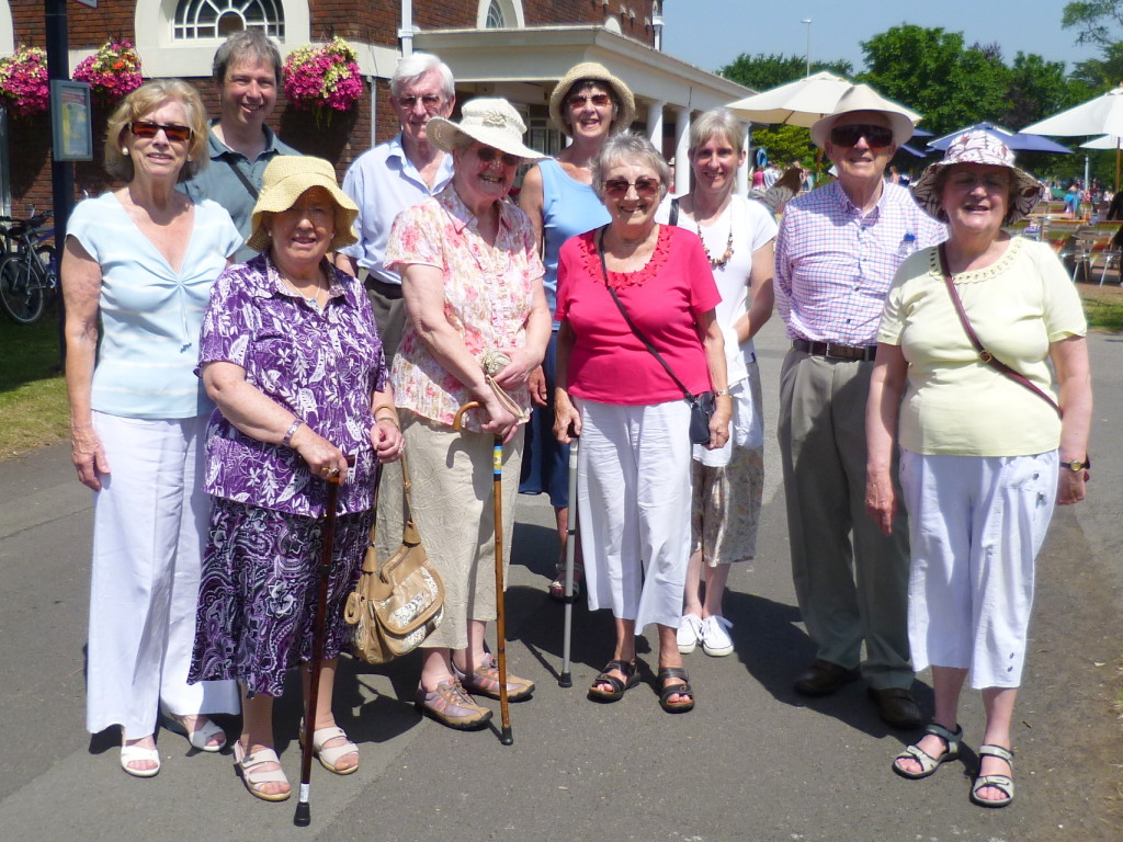Members of Swansea BackCare